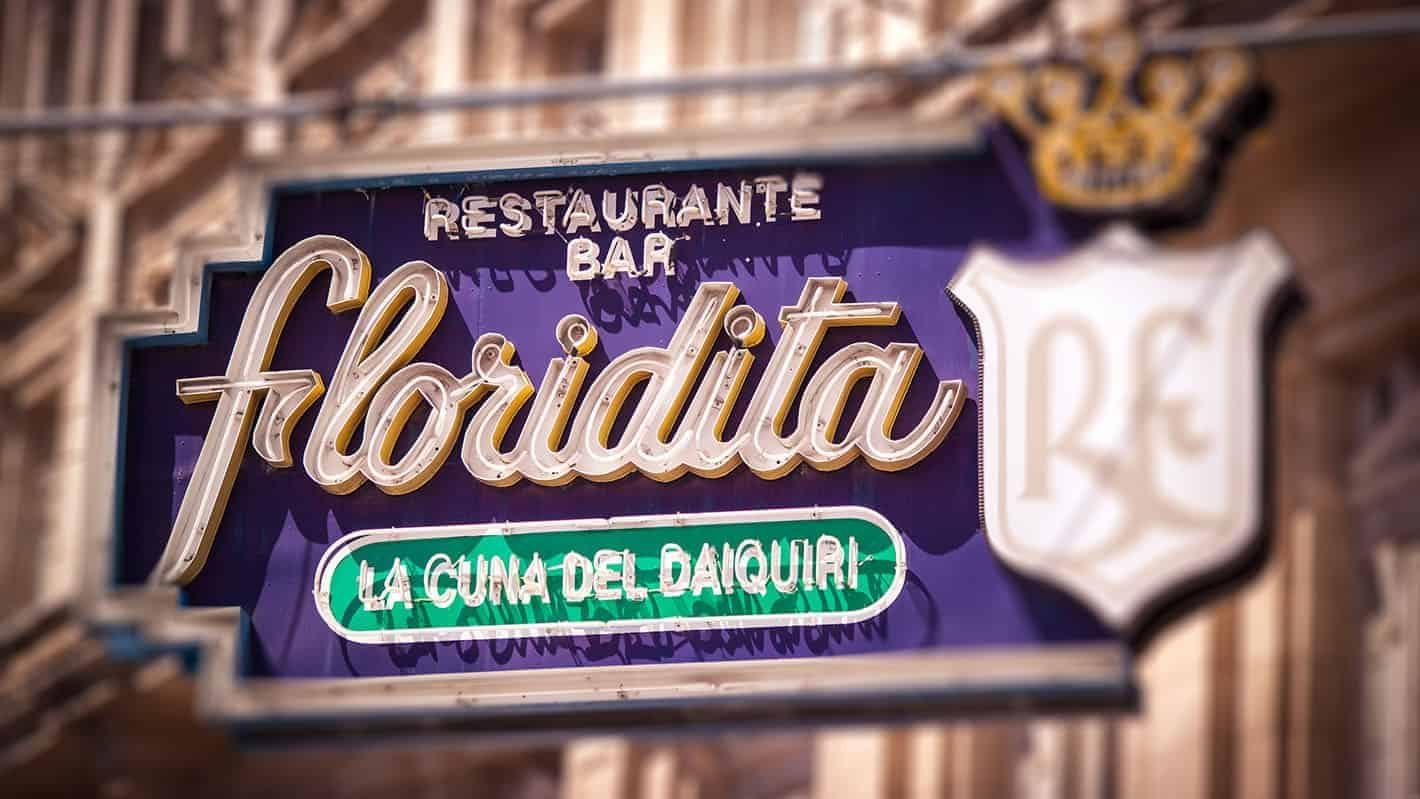 Old Havana Tour - Floridita Bar the birthplace of the Daiquiri