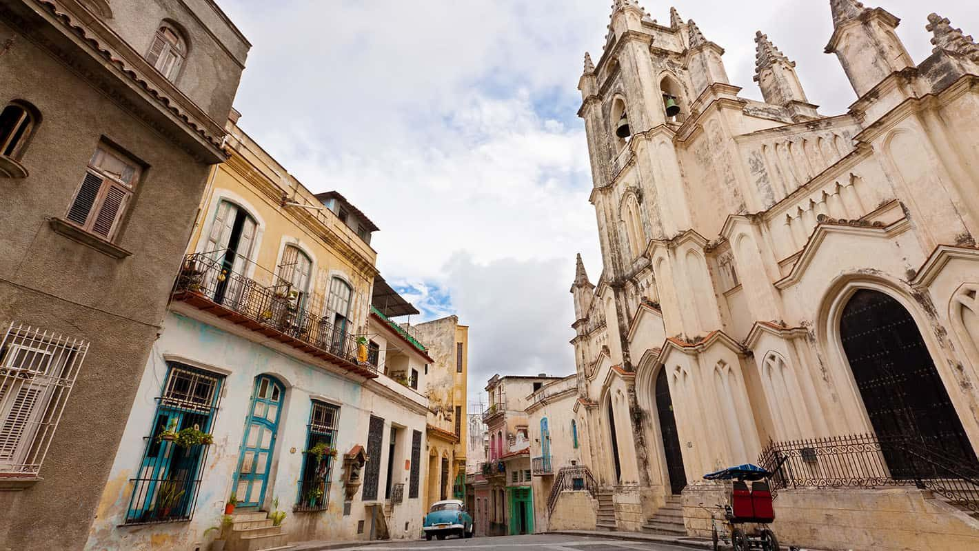 Havana City Tour - This charming square named after the church is one of the top attractions in Old Havana